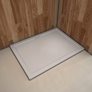 Akrylátová sprchová vanička, obdélník, 120x90x3,8 cm SE-12090