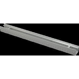 Alcaplast Drenážní žlab 75 mm nastavitelný, pozinkovaná ocel ADZ101V