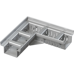 Alcaplast Drenážní žlab rohový 100 mm nastavitelný, nerez ADZ302VR