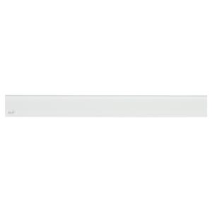 Alcaplast GLASS Rošt pro liniový podlahový žlab sklo bílé GL1200-1050