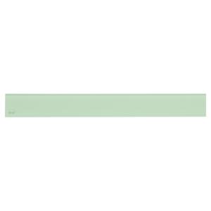 Alcaplast GLASS Rošt pro liniový podlahový žlab sklo zelené GL1202-650