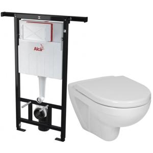 ALCAPLAST Jádromodul předstěnový instalační systém bez tlačítka + WC JIKA LYRA PLUS + SEDÁTKO DURAPLAST AM102/1120 X LY6