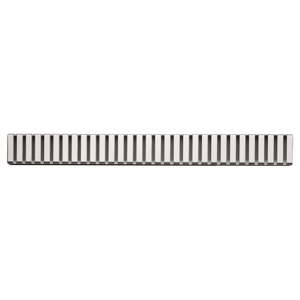 Alcaplast LINE-100M rošt podlahového žlabu matný 10cm doplněk roštu APZ1 LINE-100M