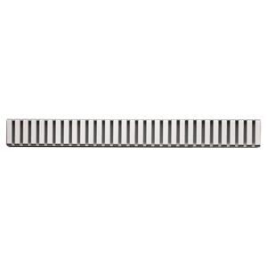 ALCAPLAST-LINE-1450L rošt podlahového žlabu lesklý LINE-1450L
