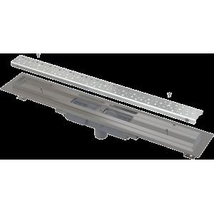 Alcaplast Podlahový žlab Antivandal s roštem, svislý odtok APZ1111-1050M