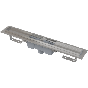 Alcaplast Podlahový žlab s okrajem pro perforovaný rošt, svislý odtok APZ1001-550 APZ1001-550
