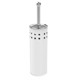 AQUALINE SIMPLE LINE WC štětka válcová s otvory, bílá 04002W