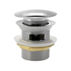 """AQUALINE Vanový odpad, Click Clack, pro vany s integrovaným přepadem, 1""""1/2, chrom TF5005"""