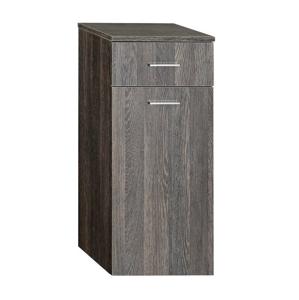 AQUALINE ZOJA/KERAMIA FRESH skříňka spodní s košem 35x78x29cm,mali wenge 50262