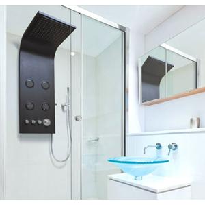 Aquatek Bahamas Hydromasážní sprchový panel, baterie mechanická Bahamas-24