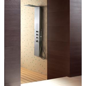 Aquatek Dubai Hydromasážní sprchový panel , způsob montáže na zeď, baterie termostatická Dubai-265