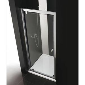 Aquatek Master B1 85 sprchové dveře do niky jednokřídlé 81-85cm, barva rámu bílá, výplň sklo matné B185-167