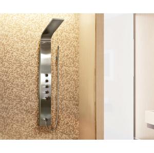 Aquatek Tahiti Hydromasážní sprchový panel, způsob montáže na zeď, baterie termostatická Tahiti-265