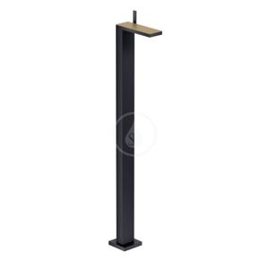 AXOR MyEdition Umyvadlová baterie na podlahu s výpustí, matná černá/kartáčovaný bronz 47040360