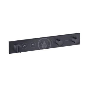 AXOR ShowerSolutions Termostatická sprchová baterie Select 600/90 pod omítku pro 4 spotřebiče, matná černá 18357350