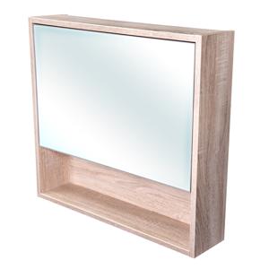 CEDERIKA Amsterdam galerka 1x výklopné barva zrcadlo v AL rámu korpus korpus Dub bardolino šíře 75 CA.G1V.194.075