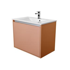 CEDERIKA Amsterdam umyvadlová skříňka 1x šuplík barva metallic měděný korpus korpus metallic měděný šíře 75 CA.U1B.133.075