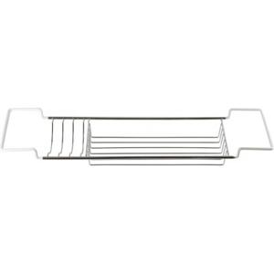 Drátěná polička na vanu KD02080192 17×69,5–85×8 cm KD02080192