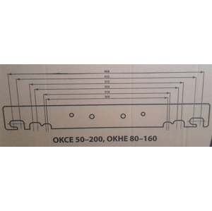 DRAŽICE Bojlerové konzole pro OKHE ONE/ Universal 102000703 102000703