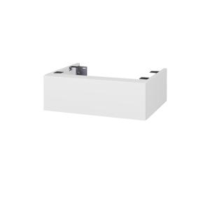 Dřevojas Doplňková skříňka pod desku DSD SZZ 60. bez výřezu (výška 20 cm) N01 Bílá lesk / M01 Bílá mat 224936