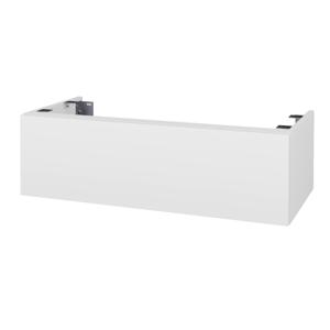 Dřevojas Doplňková skříňka pod desku DSD SZZ1 100. bez výřezu (výška 30 cm) N01 Bílá lesk / M01 Bílá mat 230395