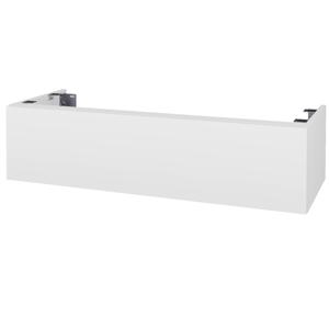 Dřevojas Doplňková skříňka pod desku DSD SZZ1 120. s výřezem (výška 30 cm) N01 Bílá lesk / D02 Bříza 232986
