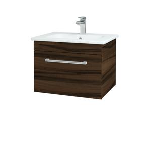 Dřevojas Koupelnová skříň ASTON SZZ 60 D06 Ořech / Úchytka T03 / D06 Ořech 131289C