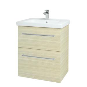 Dřevojas Koupelnová skříň BIG INN SZZ2 65 D04 Dub / Úchytka T03 / D04 Dub 133016C