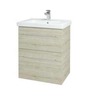 Dřevojas Koupelnová skříň BIG INN SZZ2 65 D05 Oregon / Úchytka T02 / D05 Oregon 133023B