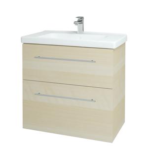 Dřevojas Koupelnová skříň BIG INN SZZ2 80 D02 Bříza / Úchytka T02 / D02 Bříza 133054B