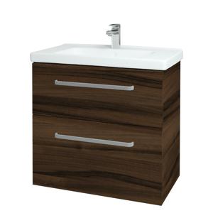 Dřevojas Koupelnová skříň BIG INN SZZ2 80 D06 Ořech / Úchytka T01 / D06 Ořech 133092A