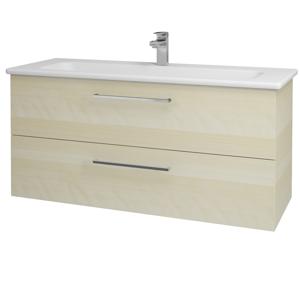 Dřevojas Koupelnová skříň GIO SZZ2 120 D02 Bříza / Úchytka T04 / D02 Bříza 130046E