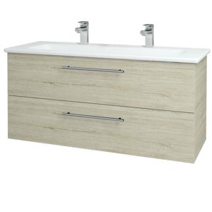 Dřevojas Koupelnová skříň GIO SZZ2 120 D05 Oregon / Úchytka T02 / D05 Oregon 130077BU