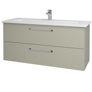 Dřevojas Koupelnová skříň GIO SZZ2 120 M05 Béžová mat / Úchytka T03 / M05 Béžová mat 202941C