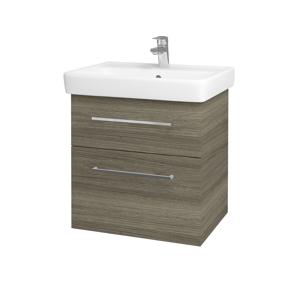 Dřevojas Koupelnová skříň Q MAX SZZ2 60 D03 Cafe / Úchytka T04 / D03 Cafe 68441E