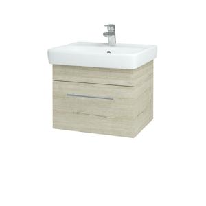 Dřevojas Koupelnová skříň Q UNO SZZ 55 D05 Oregon / Úchytka T02 / D05 Oregon 28230B