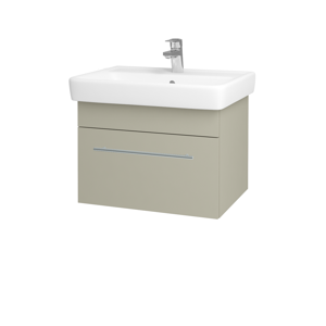Dřevojas Koupelnová skříň Q UNO SZZ 60 M05 Béžová mat / Úchytka T02 / M05 Béžová mat 208493B