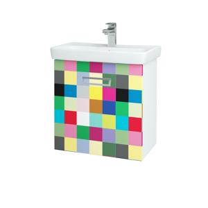 Dřevojas Koupelnová skříň SINGLE SZZ 60 N01 Bílá lesk / IND Individual 23952