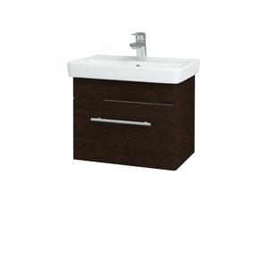 Dřevojas Koupelnová skříň SOLO SZZ 55 D08 Wenge / Úchytka T02 / D08 Wenge 21408B