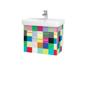 Dřevojas Koupelnová skříň SOLO SZZ 55 IND Individual / Úchytka T04 / IND Individual 150242E