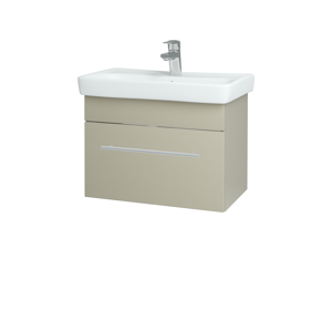 Dřevojas Koupelnová skříň SOLO SZZ 60 L04 Béžová vysoký lesk / Úchytka T02 / L04 Béžová vysoký lesk 150372B