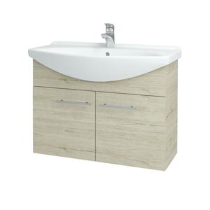 Dřevojas Koupelnová skříň TAKE IT SZD2 85 D05 Oregon / Úchytka T02 / D05 Oregon 133412B