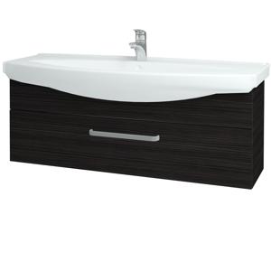 Dřevojas Koupelnová skříň TAKE IT SZZ 120 D14 Basalt / Úchytka T01 / D14 Basalt 151324A