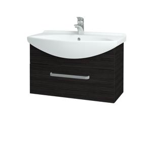Dřevojas Koupelnová skříň TAKE IT SZZ 75 D14 Basalt / Úchytka T01 / D14 Basalt 151263A