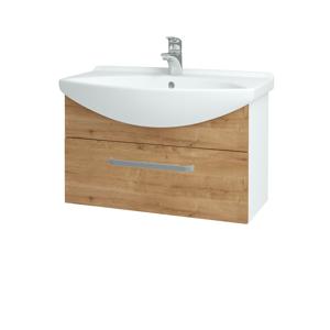 Dřevojas Koupelnová skříň TAKE IT SZZ 75 N01 Bílá lesk / Úchytka T01 / D09 Arlington 152536A