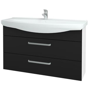 Dřevojas Koupelnová skříň TAKE IT SZZ2 120 N01 Bílá lesk / Úchytka T01 / N08 Cosmo 208196A