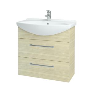 Dřevojas Koupelnová skříň TAKE IT SZZ2 75 D04 Dub / Úchytka T03 / D04 Dub 133924C