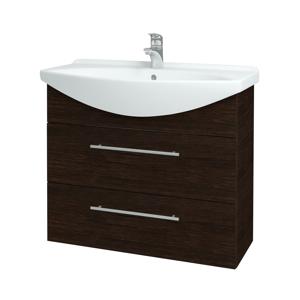 Dřevojas Koupelnová skříň TAKE IT SZZ2 85 D08 Wenge / Úchytka T02 / D08 Wenge 134099B