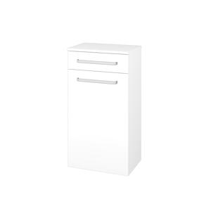 Dřevojas Skříň spodní DOS SNDZ 50 N01 Bílá lesk / Úchytka T01 / L01 Bílá vysoký lesk / Pravé 156411AP