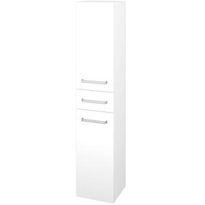 Dřevojas Skříň vysoká DOS SVD2Z 35 N01 Bílá lesk / Úchytka T01 / L01 Bílá vysoký lesk / Pravé 64719AP